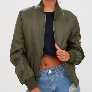 MA-1 Olive Bomber Jacket Flight Military Style